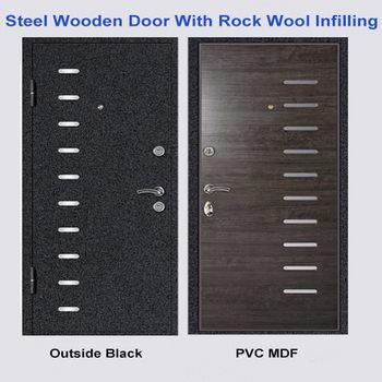 Russia Style Steel MDF Door