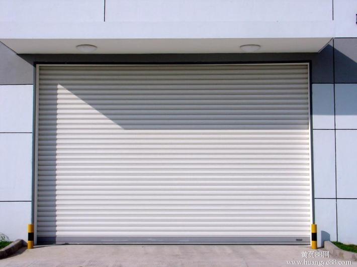 aluminium alloy rolling shutter door with motor