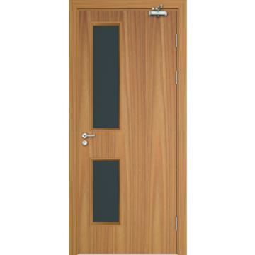 BS certificate wood fire rated hotel door,security door for interior