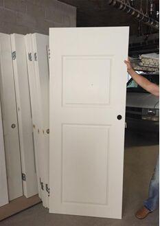 US Two Panel Door