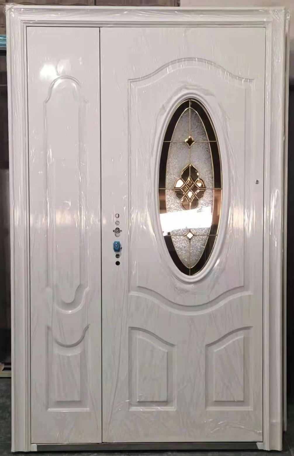 Steel Oval Glass Door ET-SG01