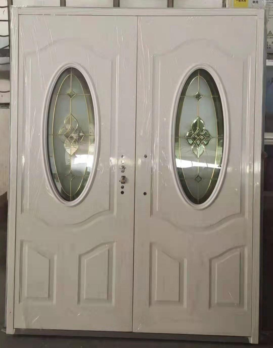 Steel Oval Glass Door ET-SG03