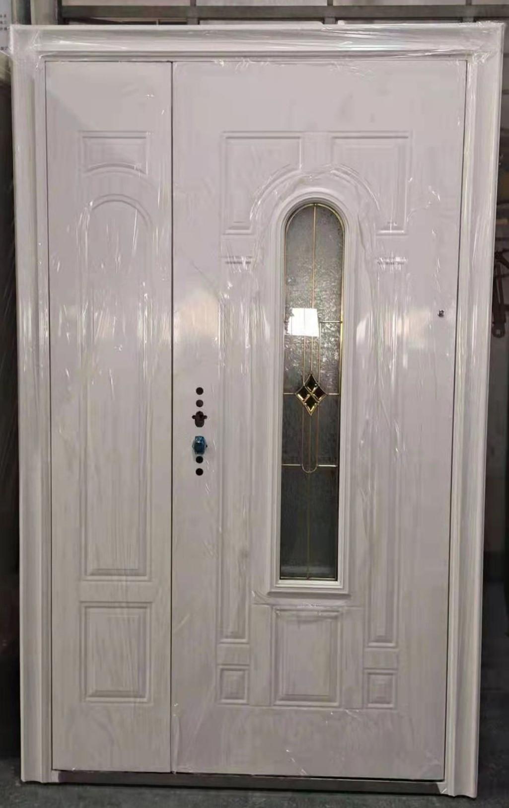 Steel Oval Glass Door ET-SG06