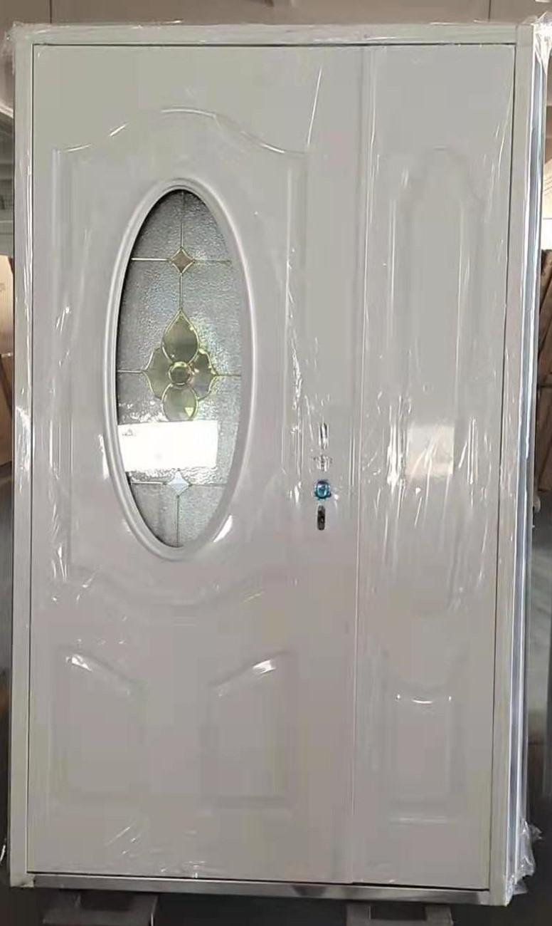Steel Oval Glass Door ET-SG07