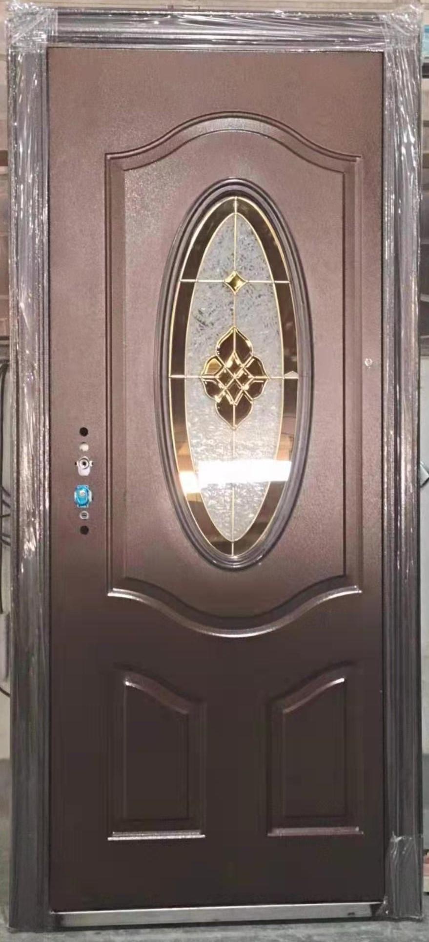 Steel Oval Glass Door ET-SG08