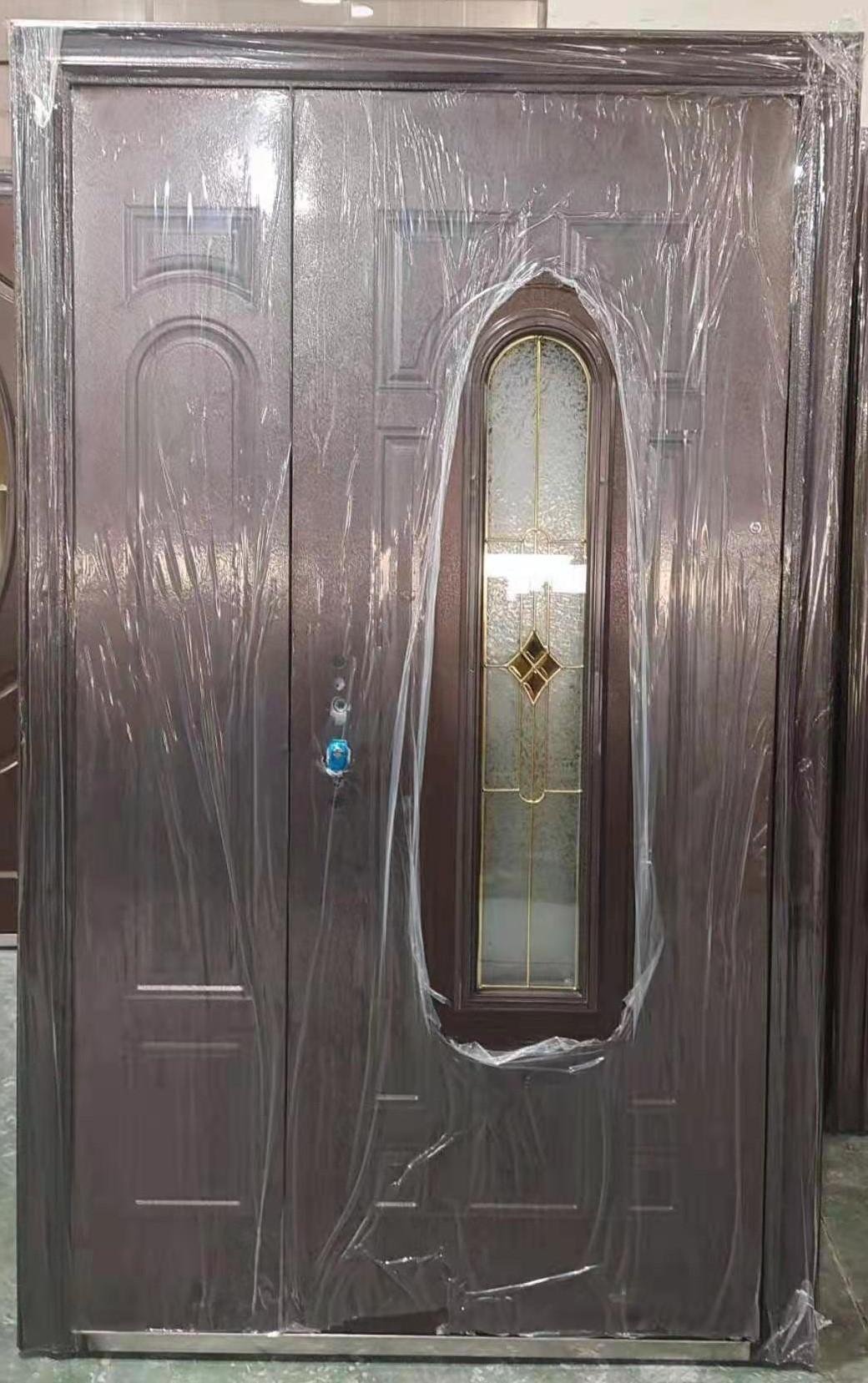 Steel Oval Glass Door ET-SG10