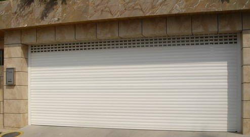 Automatic Roll Up Aluminum Garage Door Low Prices Product Detail