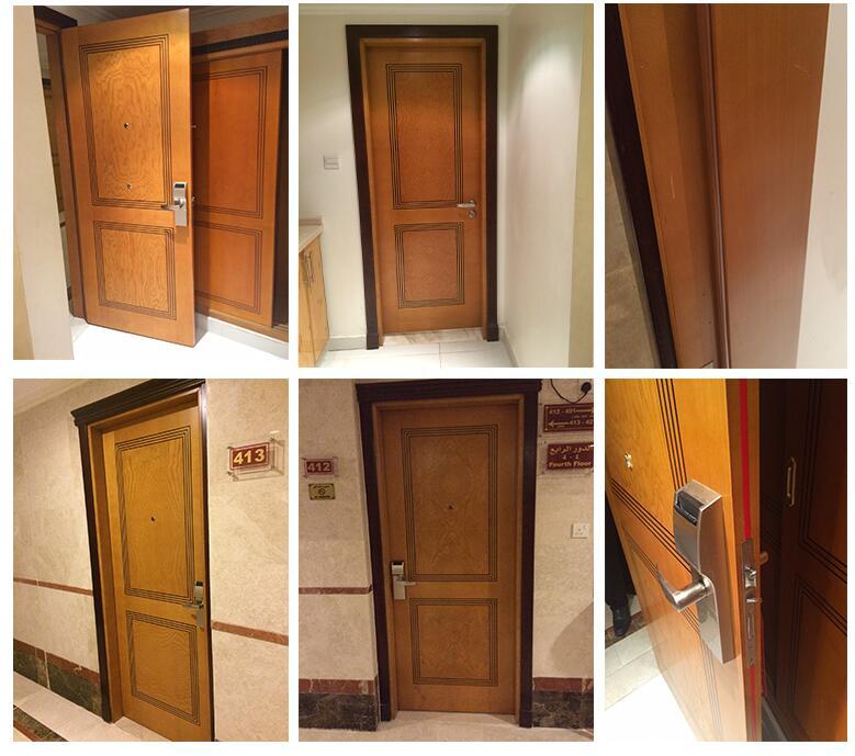 Elegant timber flush design fire timber door fire wooden for Flush interior wood doors