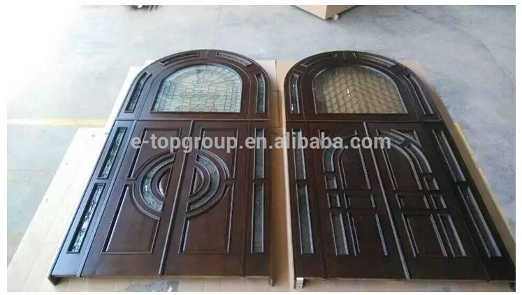 Mahogany Solid Wood Carved Entry Door Product Detail Doors