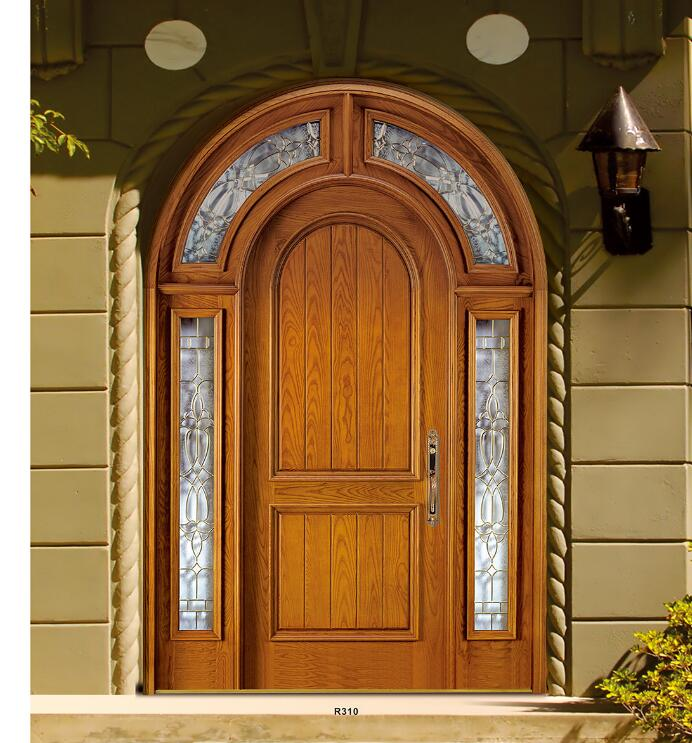 American Arch Top Round Mahogany Entry Door Product Detail Doors